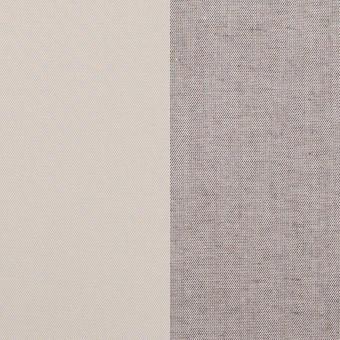 コットン&ポリエステル混×無地(アイボリー&グレー)×ギャバジン&ブロード(ボンディング)_全2色_イタリア製 サムネイル1