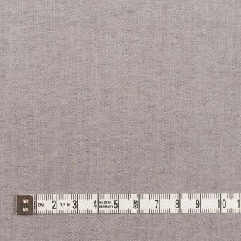 コットン&ポリエステル混×無地(アイボリー&グレー)×ギャバジン&ブロード(ボンディング)_全2色_イタリア製 サムネイル6