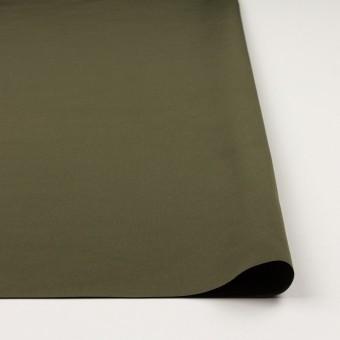 コットン&ポリエステル×無地(カーキグリーン)×形状記憶タッサーポプリン_全2色 サムネイル3