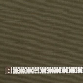 コットン&ポリエステル×無地(カーキグリーン)×形状記憶タッサーポプリン_全2色 サムネイル4