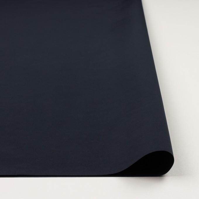 コットン&ポリエステル×無地(ダークネイビー)×形状記憶タッサーポプリン_全2色 イメージ3