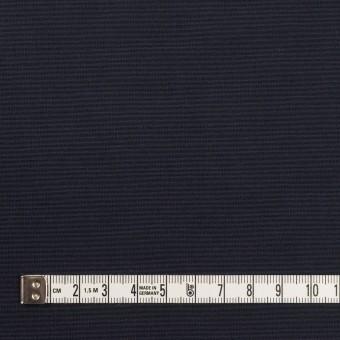 コットン&ポリエステル×無地(ダークネイビー)×形状記憶タッサーポプリン_全2色 サムネイル4
