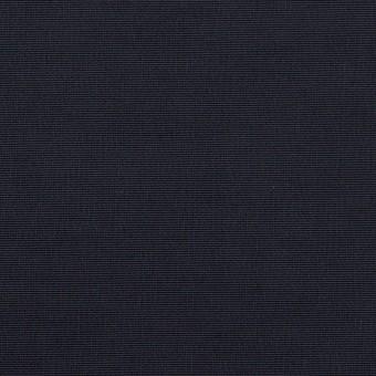 コットン&ポリエステル×無地(ダークネイビー)×形状記憶タッサーポプリン_全2色