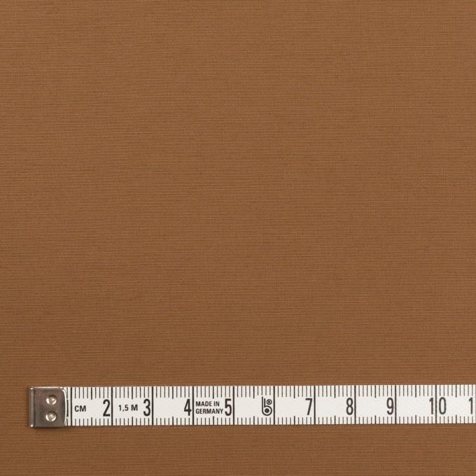 コットン&ナイロン×無地(キャラメル)×タッサーポプリン イメージ4