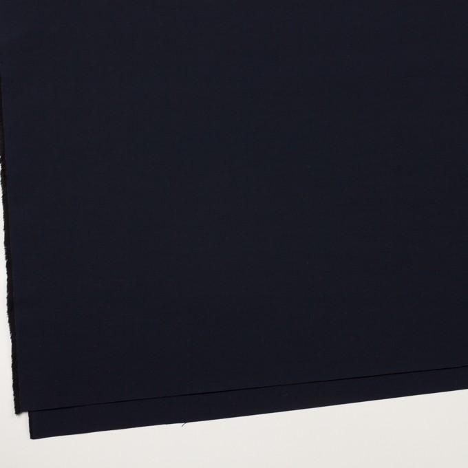 コットン&ナイロン×無地(ダークネイビー)×タッサーポプリン イメージ2