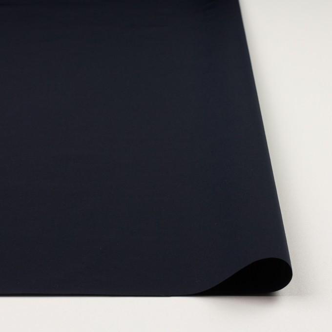 コットン&ナイロン×無地(ダークネイビー)×タッサーポプリン イメージ3