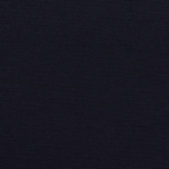 コットン&ナイロン×無地(ダークネイビー)×タッサーポプリン