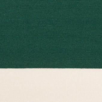 コットン×ボーダー(モスグリーン)×天竺ニット_全7色