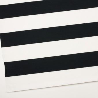 コットン×ボーダー(ブラック)×天竺ニット_全7色 サムネイル2