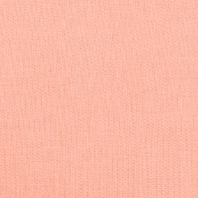 コットン×無地(ピーチ)×ローン_全10色 イメージ1
