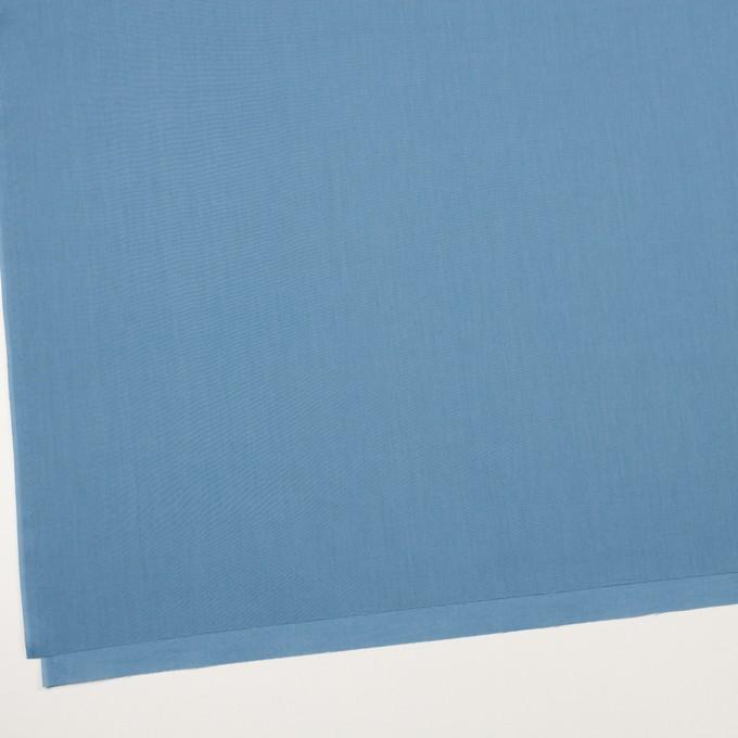 コットン×無地(チョークブルー)×ローン_全10色 イメージ2