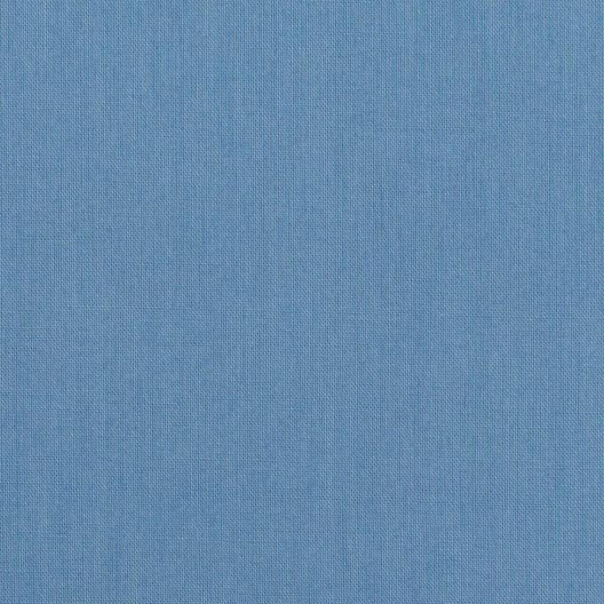 コットン×無地(チョークブルー)×ローン_全10色 イメージ1