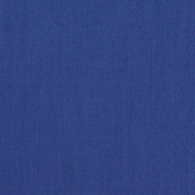 コットン×無地(ロイヤルブルー)×ローン_全10色 イメージ1