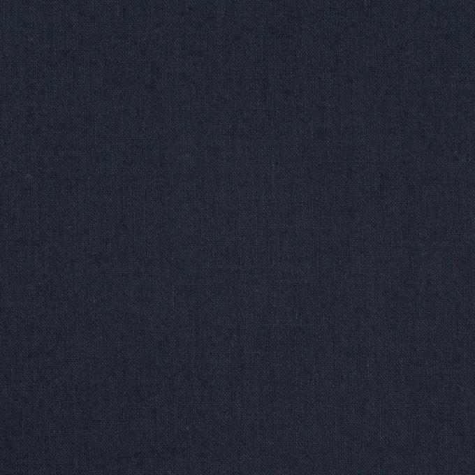 コットン×無地(ダークネイビー)×ローン_全10色 イメージ1