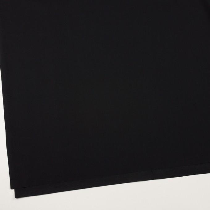 コットン×無地(ブラック)×ローン_全10色 イメージ2