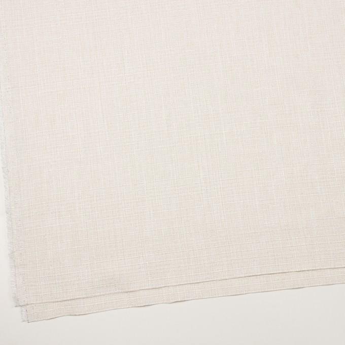 コットン&レーヨン混×無地(バニラホワイト)×ファンシーツイード イメージ2