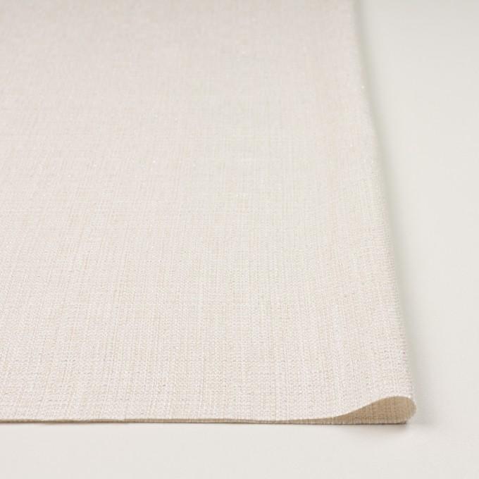 コットン&レーヨン混×無地(バニラホワイト)×ファンシーツイード イメージ3