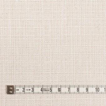 コットン&レーヨン混×無地(バニラホワイト)×ファンシーツイード サムネイル4