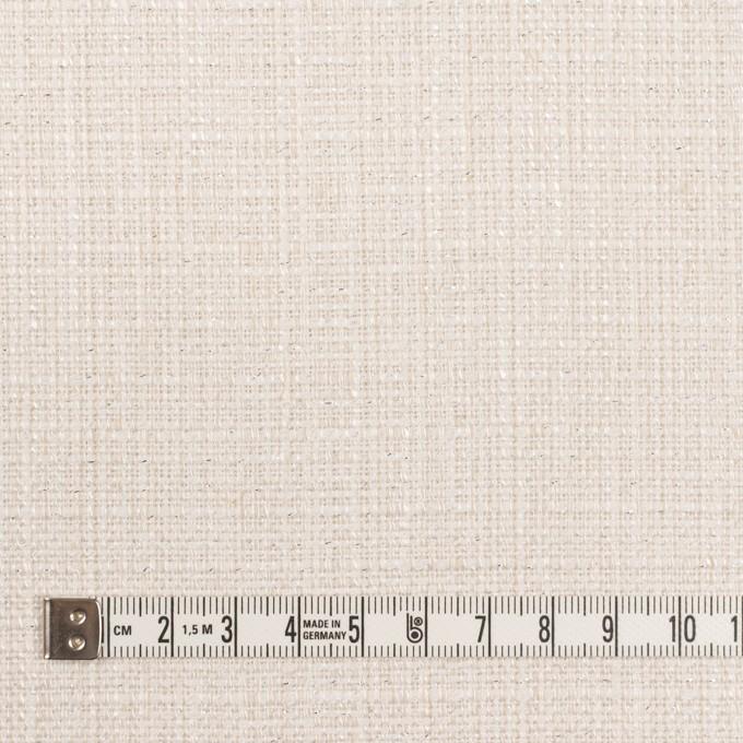 コットン&レーヨン混×無地(バニラホワイト)×ファンシーツイード イメージ4