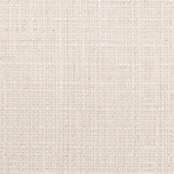 コットン&レーヨン混×無地(バニラホワイト)×ファンシーツイード サムネイル1