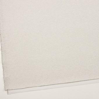 コットン&シルク混×ボーダー(アイボリー&ブラック)×二重織 サムネイル2