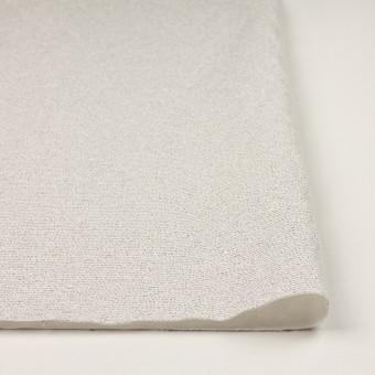 コットン&シルク混×ボーダー(アイボリー&ブラック)×二重織 サムネイル3