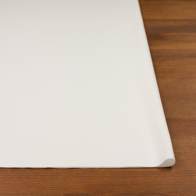 コットン&ポリウレタン×無地(オフホワイト)×スムースニット イメージ3