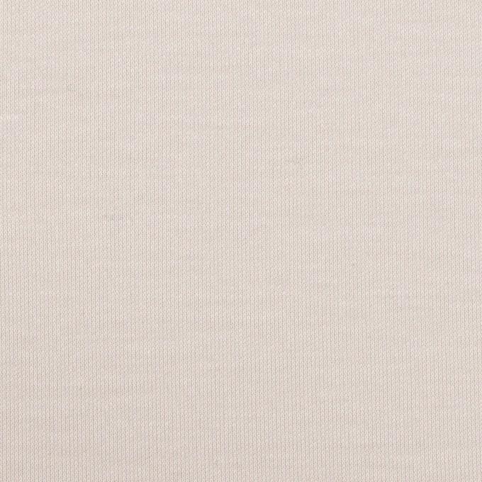 コットン&モダール×無地(パール)×スムースニット イメージ1