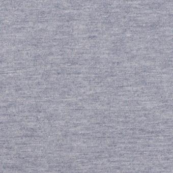 コットン×無地(アッシュブルー)×天竺ニット サムネイル1