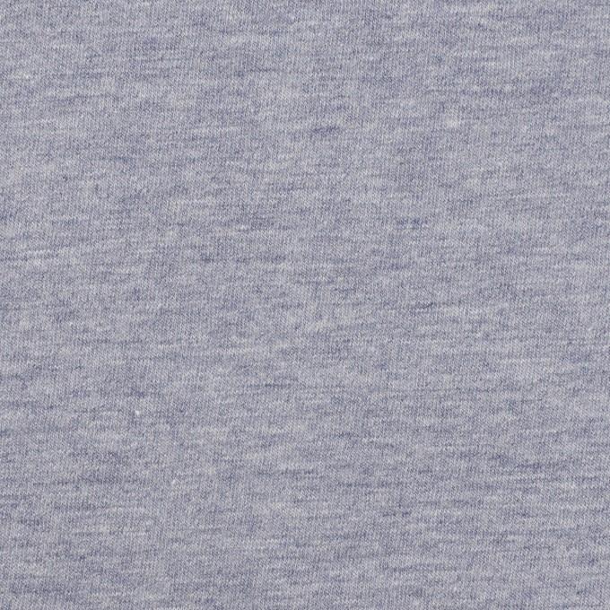 コットン×無地(アッシュブルー)×天竺ニット イメージ1