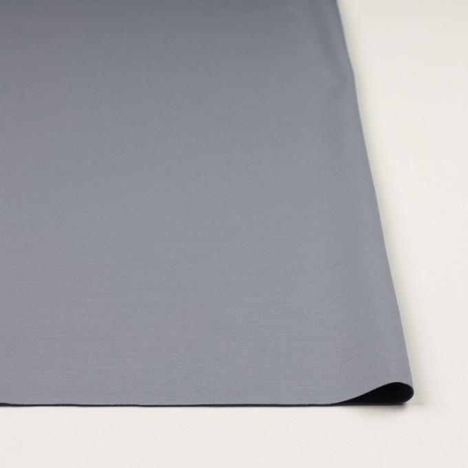 コットン&リヨセル混×無地(スモークグレー)×Wニット イメージ3