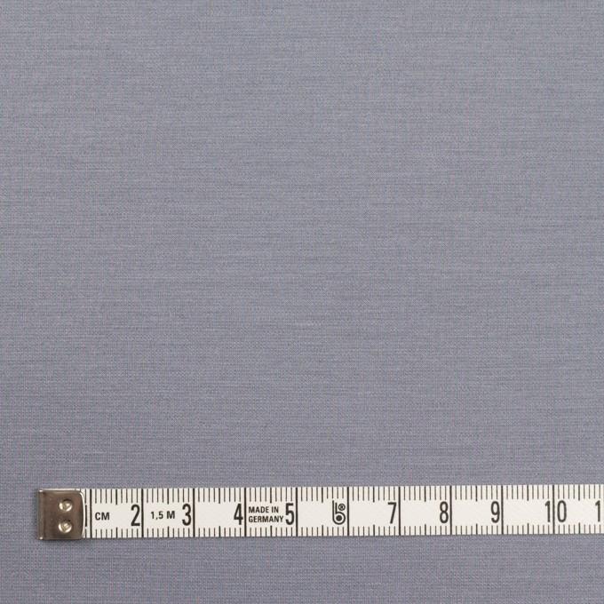 コットン&リヨセル混×無地(スモークグレー)×Wニット イメージ4