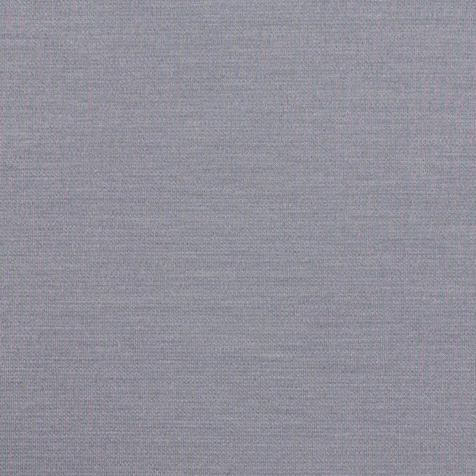 コットン&リヨセル混×無地(スモークグレー)×Wニット イメージ1