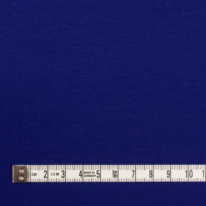 リヨセル&コットン×無地(マリンブルー)×スムースニット イメージ4