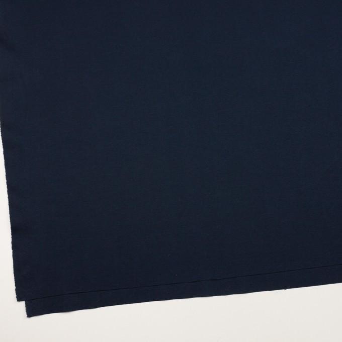 コットン&リヨセル×無地(ダークネイビー)×スムースニット イメージ2