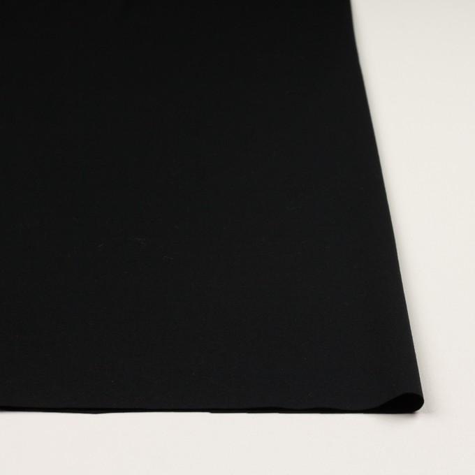 コットン&リヨセル×無地(ブラック)×スムースニット イメージ3