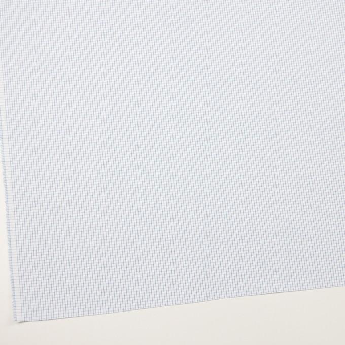 コットン×チェック(ブルー)×ブロード イメージ2