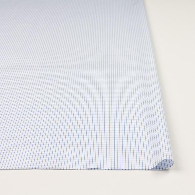 コットン×チェック(ブルー)×ブロード イメージ3