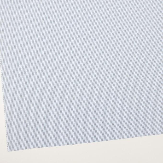 コットン×チェック(サックス)×ブロード イメージ2