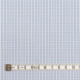 コットン×チェック(サックス)×ブロード サムネイル4