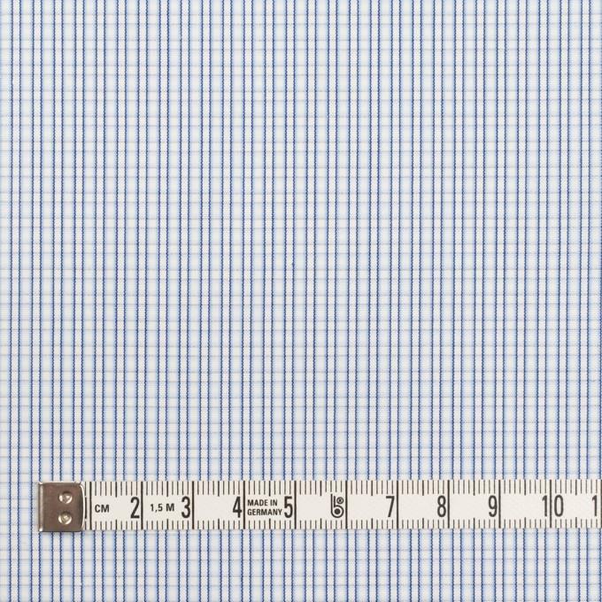 コットン×チェック(サックス)×ブロード イメージ4