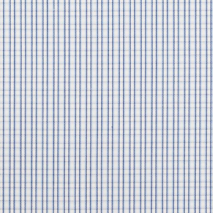 コットン×チェック(サックス)×ブロード イメージ1