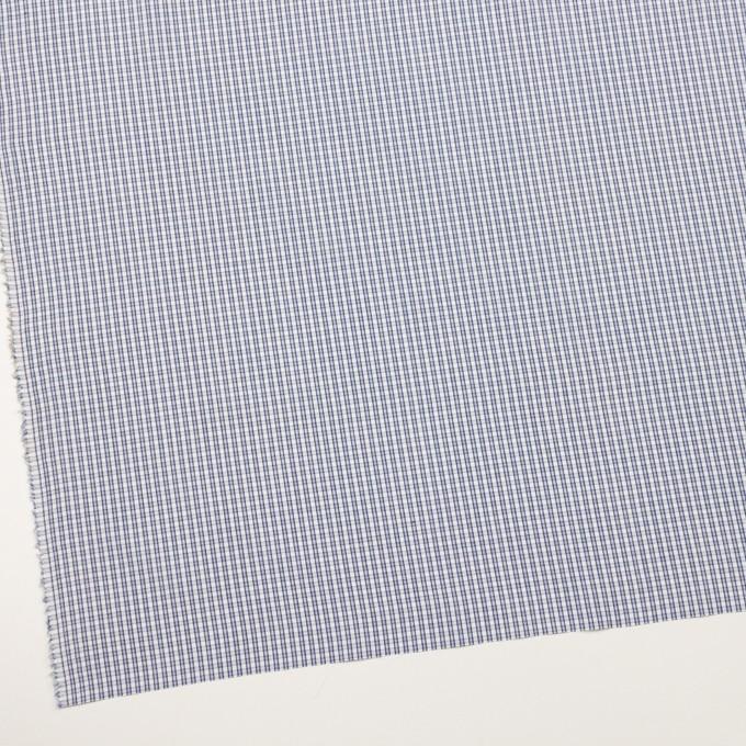 コットン×チェック(ブルー)×ブロードジャガード イメージ2