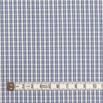 コットン×チェック(ブルー)×ブロードジャガード サムネイル4