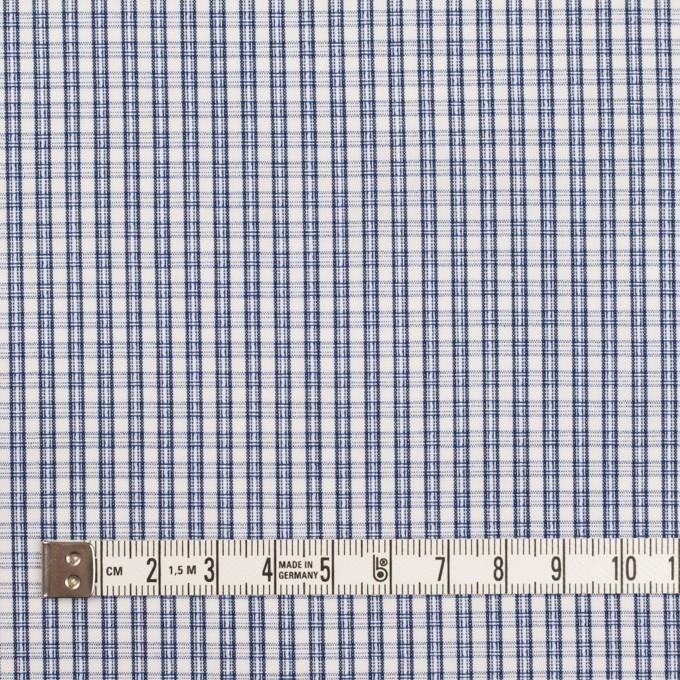 コットン×チェック(ブルー)×ブロードジャガード イメージ4