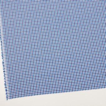 コットン×チェック(ブルー&ネイビー)×ブロード サムネイル2