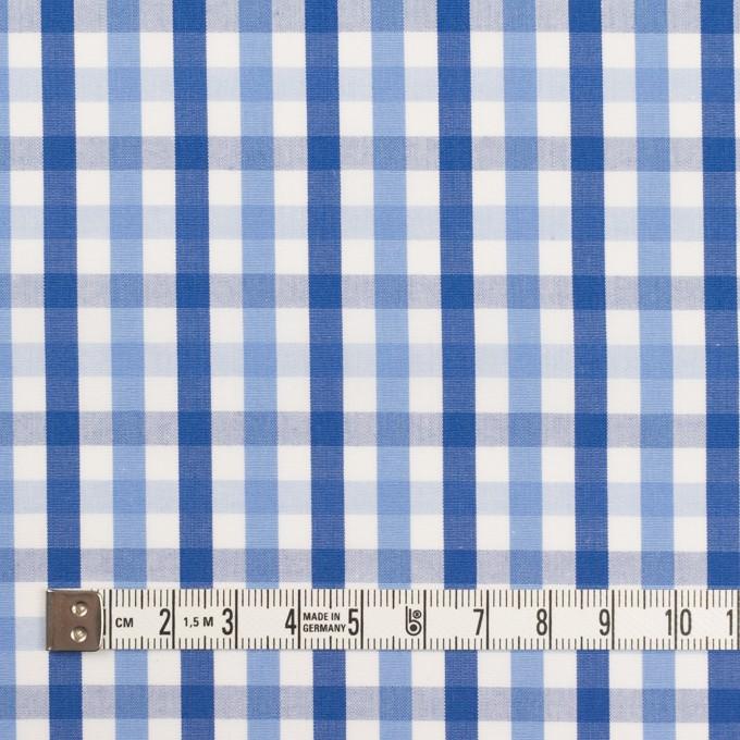 コットン×チェック(サックス&ネイビー)×ブロード イメージ4