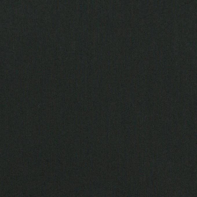 コットン×無地(ブラック)×ローン イメージ1