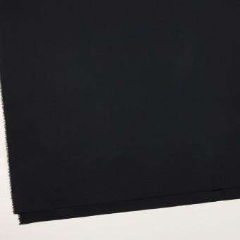 コットン&リヨセル混×無地(ブラック)×ブロードストレッチ サムネイル2