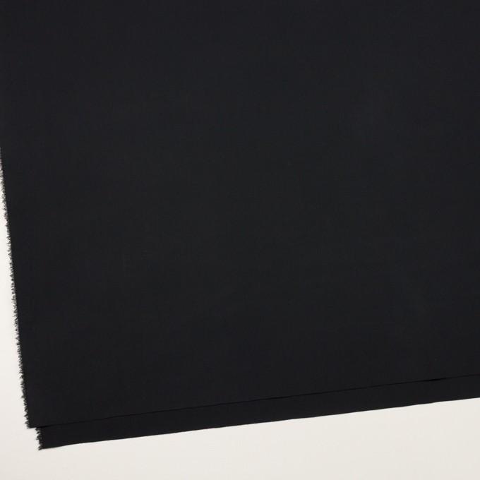 コットン&リヨセル混×無地(ブラック)×ブロードストレッチ イメージ2